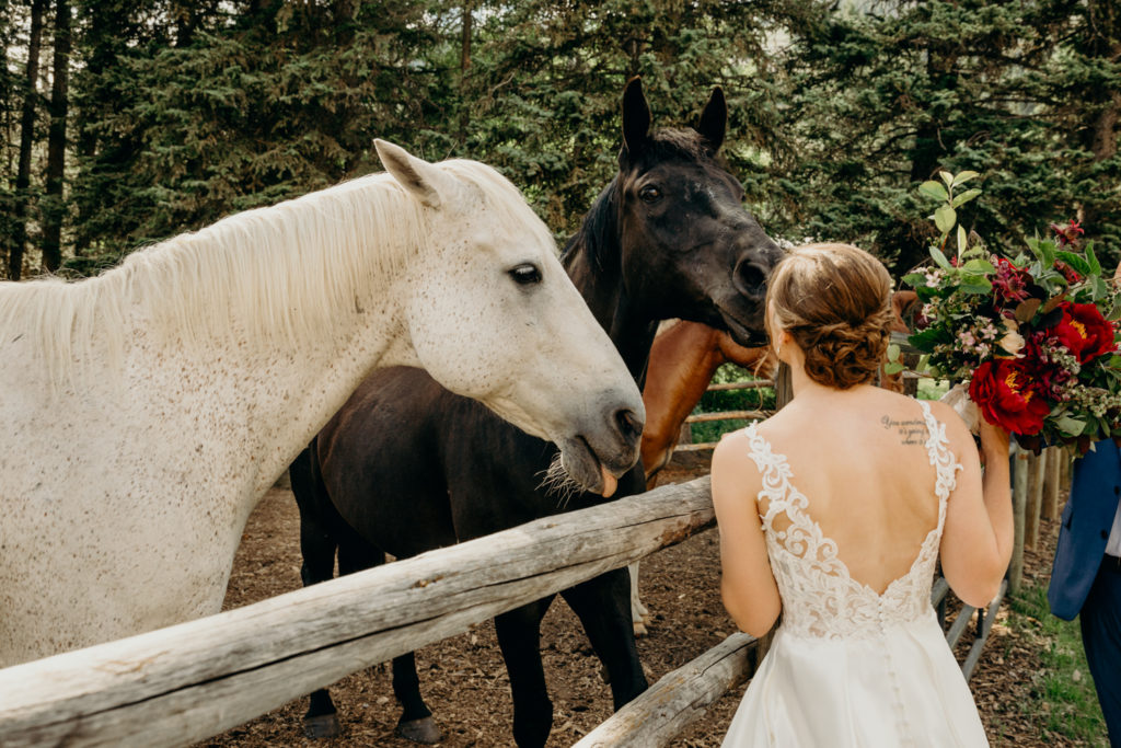 Flowers By Chloe JH at Trail Creek Ranch Wedding