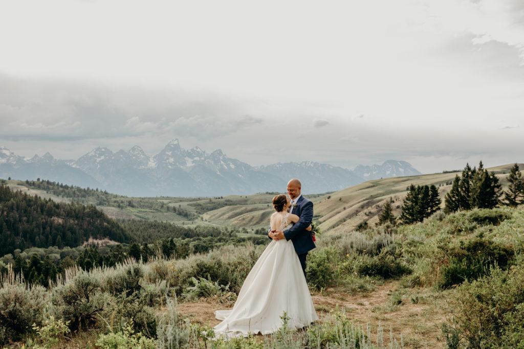 Tetons Wedding in Jackson WY