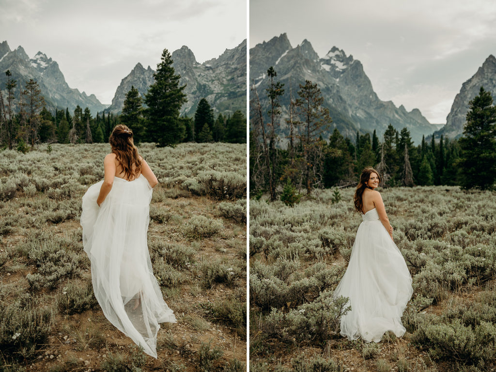 grand teton national park bride