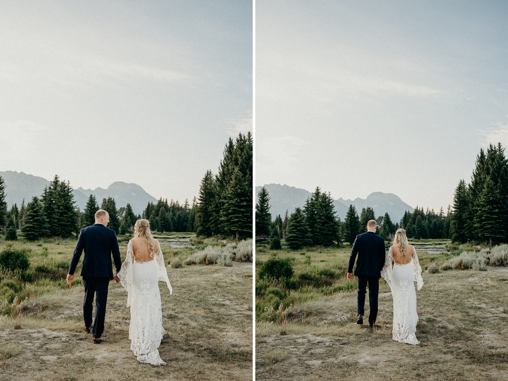 national park adventure elopement