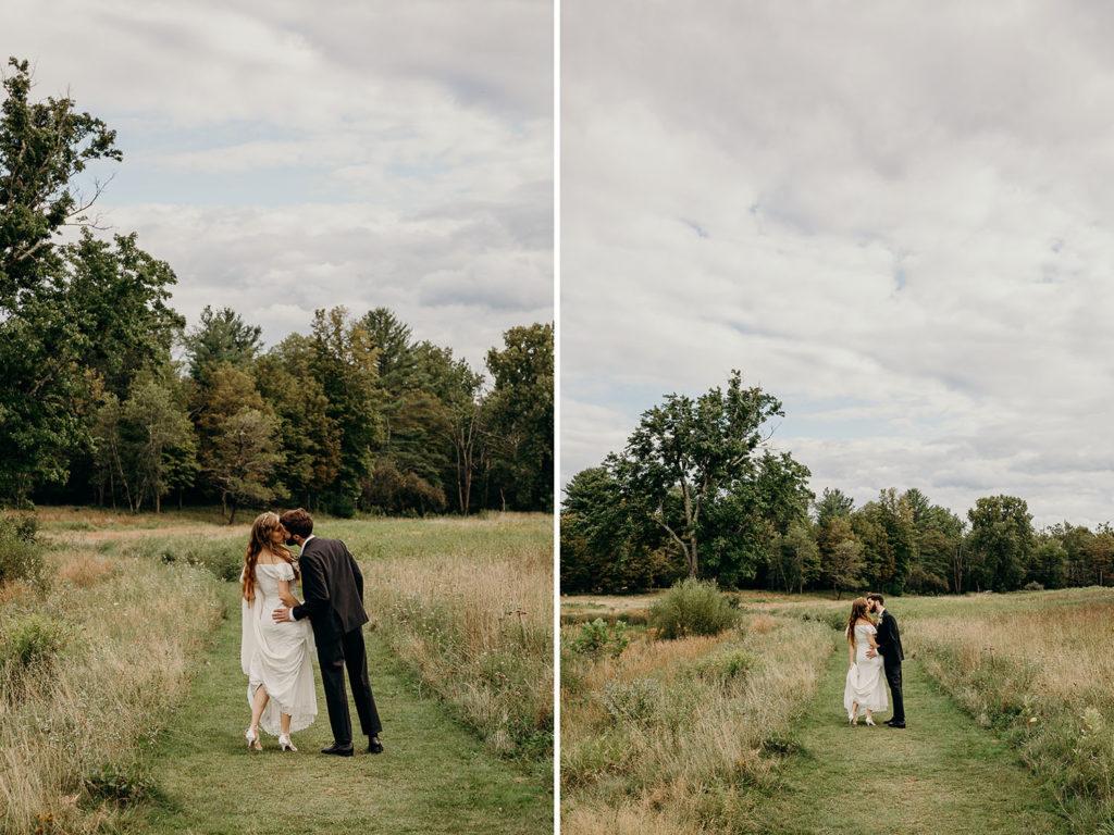 Fall Wedding in Woodstock NY