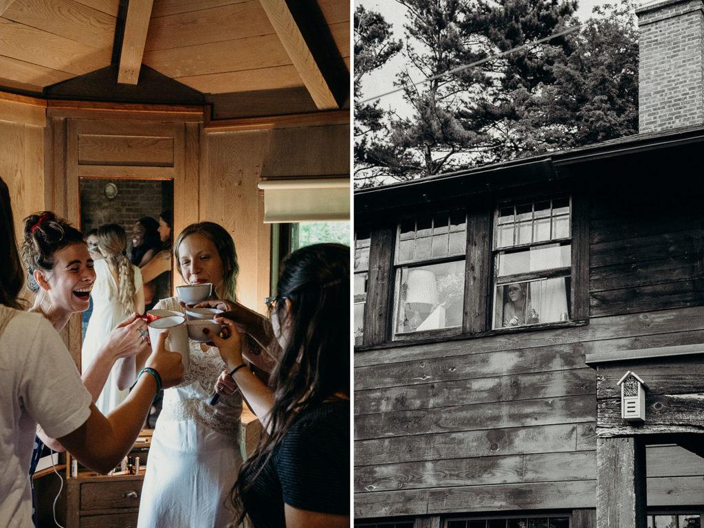 Fall Wedding Woostock New York