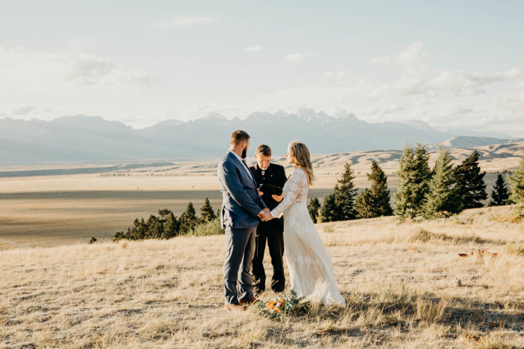 Jackson Hole Backcountry Wedding