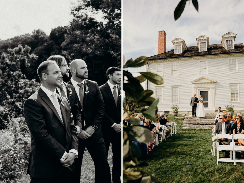 Maine Wedding at the Hamilton House