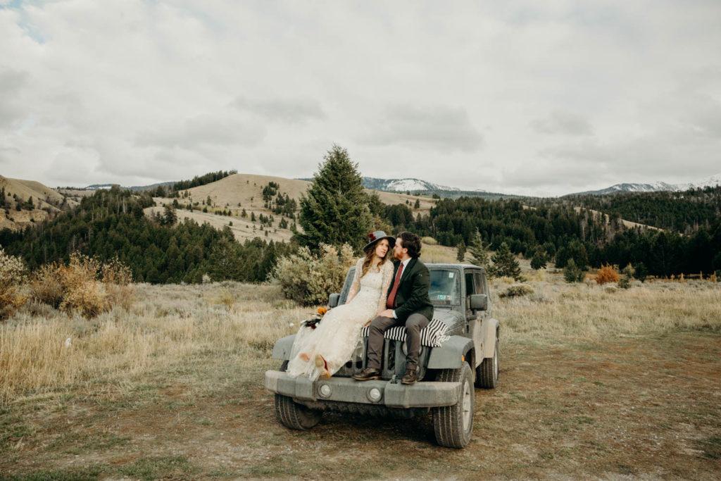 jeep wedding