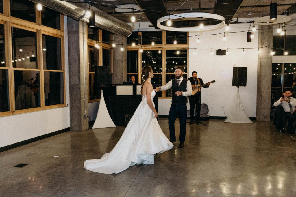 colorado dance party wedding