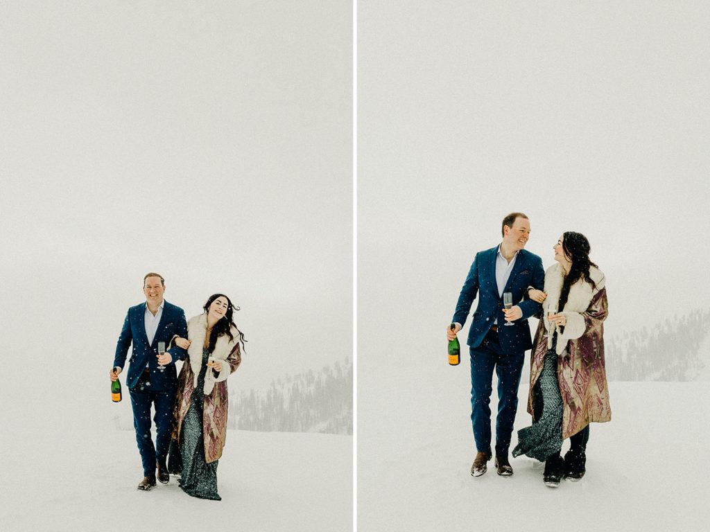 jackson hole mountain resort winter wedding