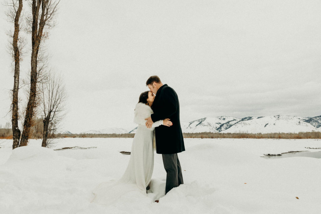 jackson hole intimate wedding