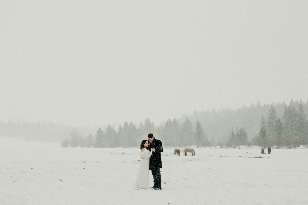 Winter Wedding in Jackson Hole