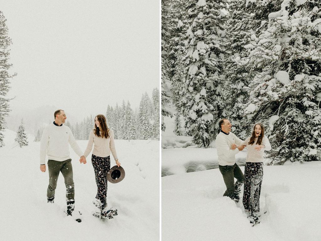 Snoeshowing Adventure in Jackson Hole