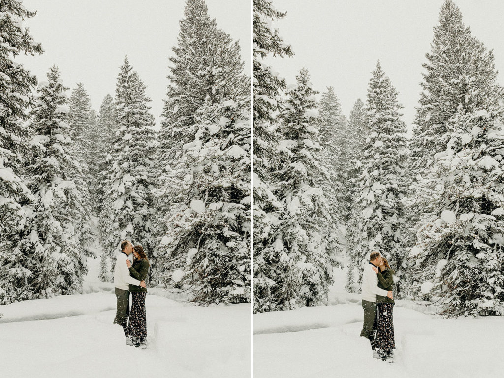 Backcountry Proposal in Jackson Hole
