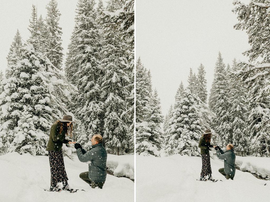 Winter Proposal in Jackson Hole