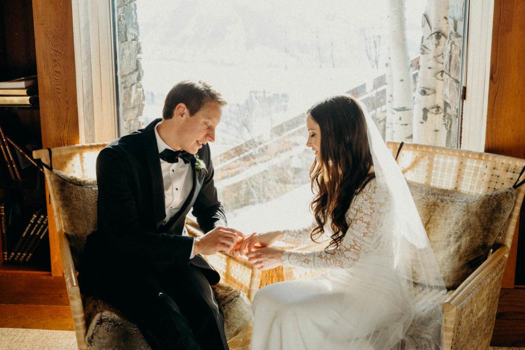 Intimate Amangani Wedding