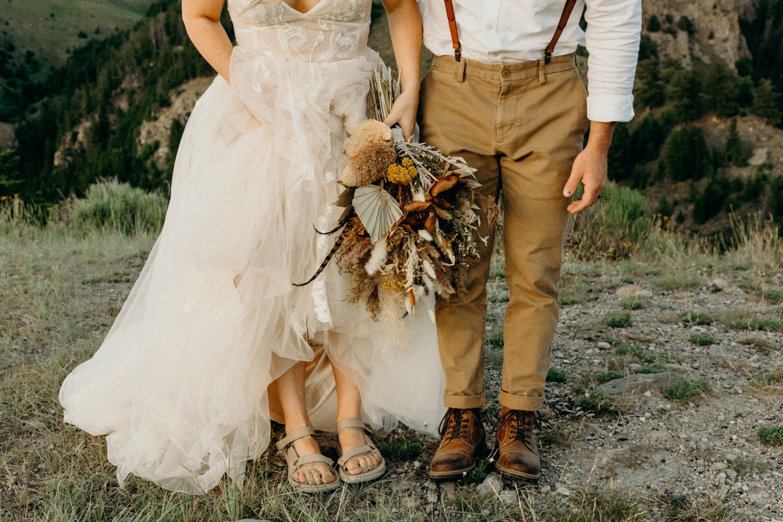 Jackson Hole adventure wedding