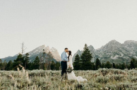 Cascade Canyon Intimate Wedding
