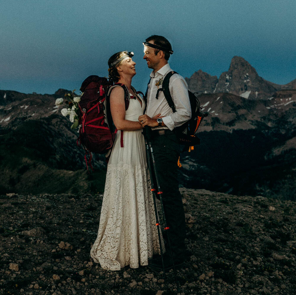Grand Targhee Intimate Wedding