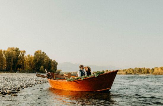 Jackson Hole Vintage Adventure Wedding