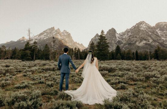 Spring Wedding at Wildflower Lodge