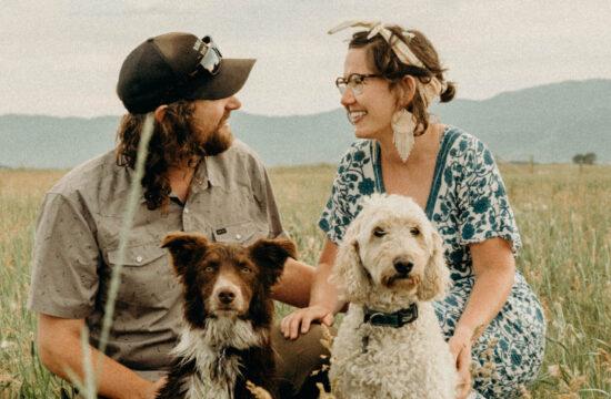 Idaho Field Couples Session